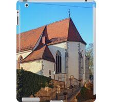 The village church of Rainbach I | architectural photography iPad Case/Skin