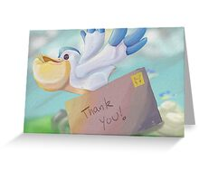 Pelipper Post Greeting Card