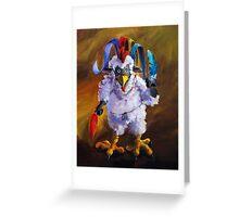 Bird Flu Greeting Card