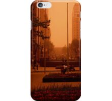 Waiting For The RED Light. Sydney. Australia iPhone Case/Skin