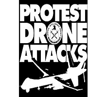 Protest Drone Attacks Photographic Print