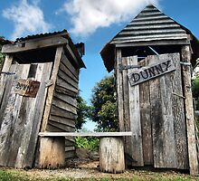 Outhouse dunnies by evidentphotos