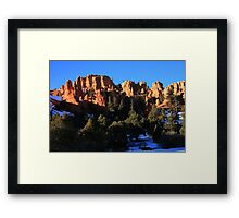 Late Day in Bryce Canyon Framed Print