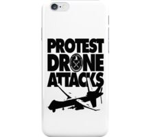 Protest Drone Attacks iPhone Case/Skin