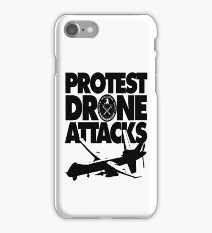 Protest Drone Attacks iPhone Case/Skin