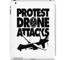 Protest Drone Attacks iPad Case/Skin