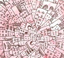 Planet City Tee Sticker