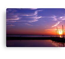 Sun Sail Canvas Print