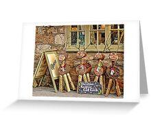 Reindeer For Sale Greeting Card