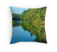 Huntsville Reservoir Throw Pillow
