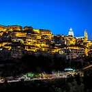Ragusa Ibla in the Evening by Xandru