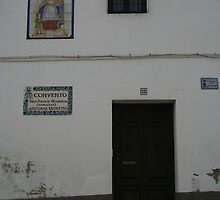 Convent - Granada, Spain by Allen Lucas
