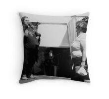 After dieting, the chief excitement of a woman's life is spotting women who are bigger than she is. Throw Pillow