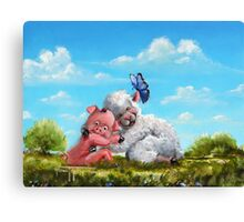Sow In Love With Ewe Canvas Print