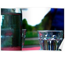 Water jug in Giverny Poster