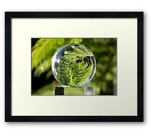 I Can See The Future Framed Print