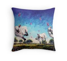 Hiccups! Throw Pillow