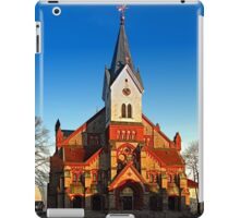 The village church of Aigen II | architectural photography iPad Case/Skin