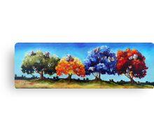 Sheep Plantation Canvas Print