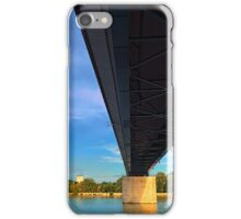 Bridge across the river Danube III | architectural photography iPhone Case/Skin