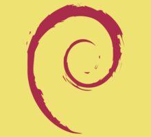 Debian Red One Piece - Short Sleeve