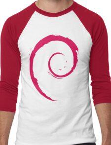 Debian Red Men's Baseball ¾ T-Shirt