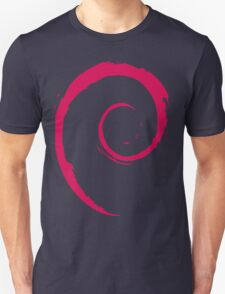 Debian Red Unisex T-Shirt