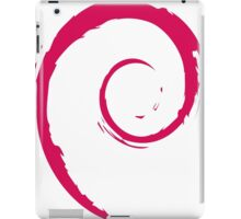 Debian Red iPad Case/Skin