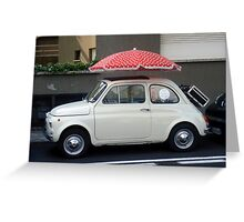 I Love Italy ! Greeting Card