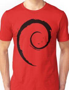 Debian Black Unisex T-Shirt