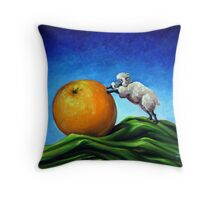 Sheep Still Life Throw Pillow