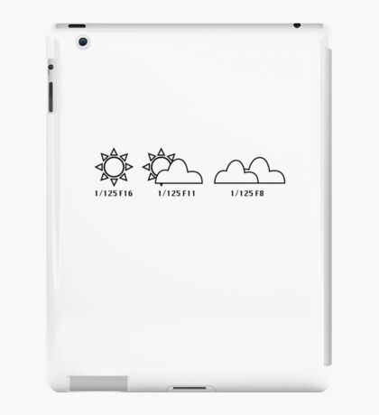 exposure guide iPad Case/Skin