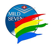Mild Seven Benetton Logo Photographic Print