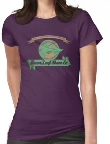 Pokemon -  Razor Leaf Shave Company (Distressed) Womens Fitted T-Shirt