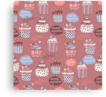 Sweet Cupcakes Canvas Print