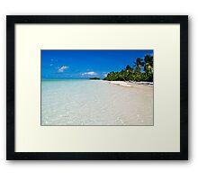 Scene of Serenity - Cocos (Keeling) Islands Framed Print