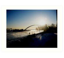 Lake Ontario canal...! Art Print