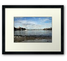 Neutral Bay Wharf Framed Print