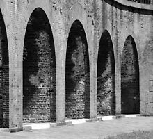 Fort Pulaski Arches by Julie's Camera Creations <><