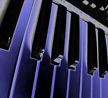Electric Blue by Helen Martikainen