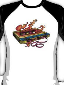 Retro Music. Old Skool music cassette tape. T-Shirt