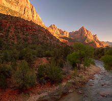 Early Morning Hike At Zion National Park ©  by © Hany G. Jadaa © Prince John Photography