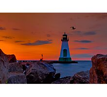 Port Dalhousie Lighthouse Photographic Print