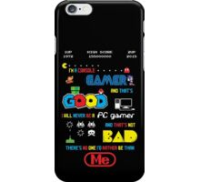 Gamer motto iPhone Case/Skin