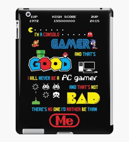 Gamer motto iPad Case/Skin