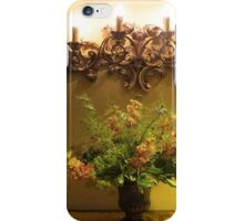 Candlelight & Posies iPhone Case/Skin