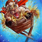 Away in a Manger by Conni Togel