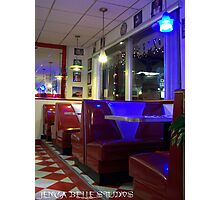 Diner Days Photographic Print
