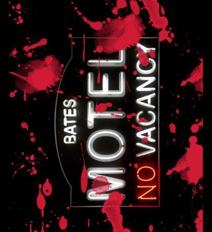 Bloody Bates Motel - iPad Case Sticker