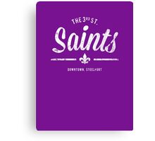 Third Street Saints Canvas Print